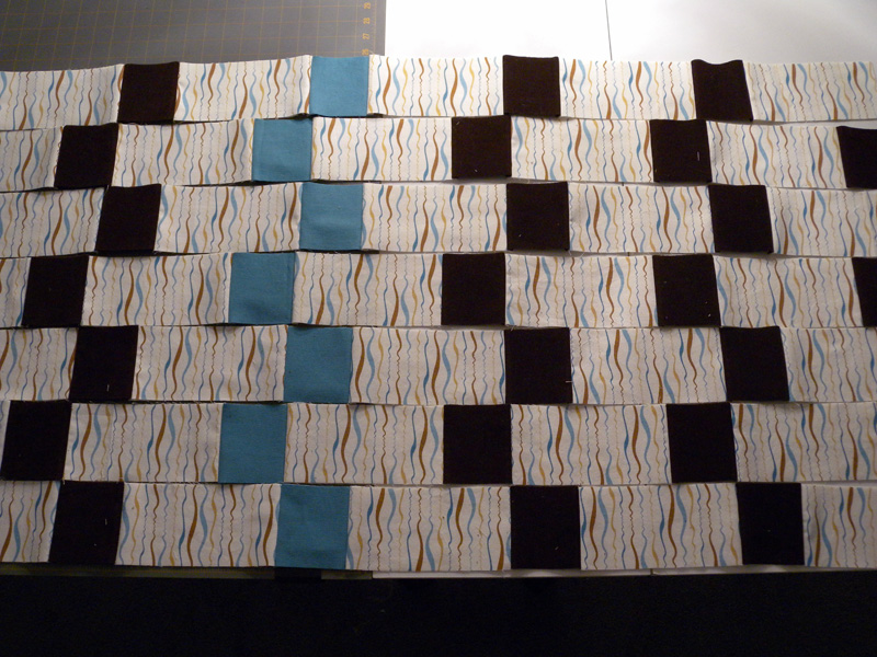Quilt Strips - Layout