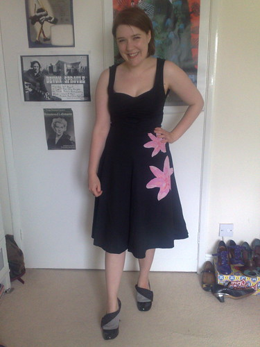 Fever lily dress and flick flack shoes