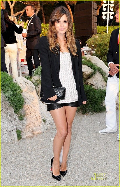 Rachel Bilson attends the Chanel Collection Croisiere Show 2011-12 at the Hotel du Cap on May 9, 2011 in Cap d'Antibes, France.