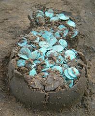 Colchester Roman Coin hoard