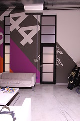 Room #1 detail (Official Classic) Tags: panorama color wall studio office hungary view pano budapest decoration 360 retro numbers helvetica postproduction branding gyr officialclassic