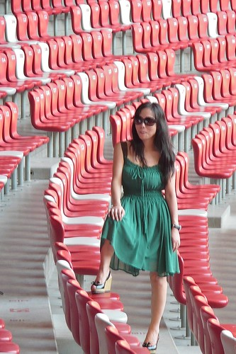Beijing Olympic Stadium - Model Pose