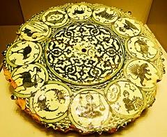 persanes (suite) (canecrabe) Tags: zodiaque céramique iran berlin pergamon musée signe émail noir