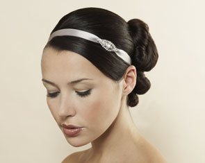 Petite Crystal and Satin Headwrap, $ 68