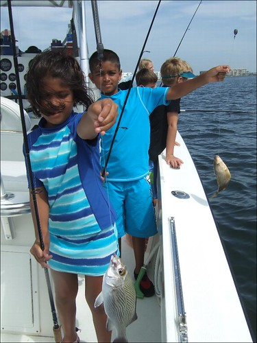 Trusha and Rujul with some nice fish!