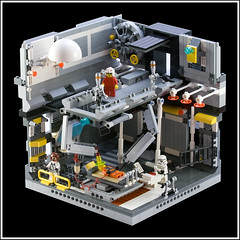 Star Wars Emergency Room (ErnestoCarrillo70) Tags: starwars lego emergencyroom vignette diorama