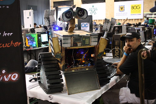 Campus Party Colombia Modding Wall-E