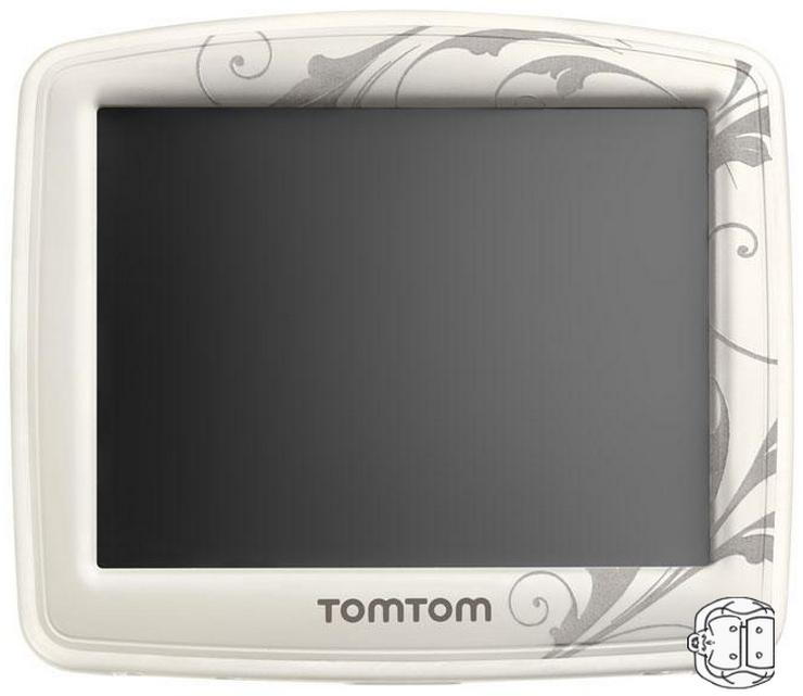 GPS TOMTOM FEMMES WHITE PEARL