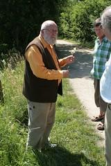 Archäobotanische Wanderung mit Dr. Helmut Kroll Haithabu 05-07-2009