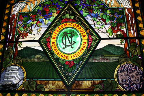 Stained Glass at the Rubicon Estate