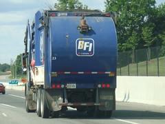 BFI 090706 (100) (JoJo Garbage Trucks) Tags: blue canada truck front rubbish fl loader fel bfi fanotech