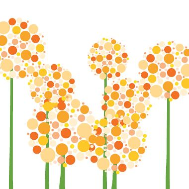 orange allium