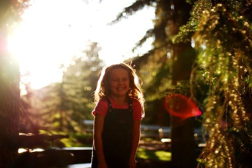 solar flare girl