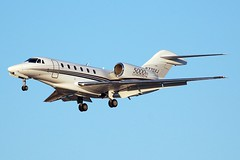 Cessna Citation X N770XJ (2) (Rich Snyder--Jetarazzi Photography) Tags: california ca plane private airplane corporate aircraft jet sanjose landing business sjc arrival approach cessna approaching citation arriving c750 bizjet ksjc citationx n770xj 5000thcitation