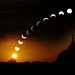 Celebrating My First Century Post ________Eclipse Seen in Lucknow Explored by Anurag Rastogi