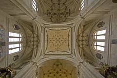 San Esteban crossing vault (Lawrence OP) Tags: espaa church spain dominican gothic iglesia vault salamanca priory sanesteban ststephen protomartyr dominicos
