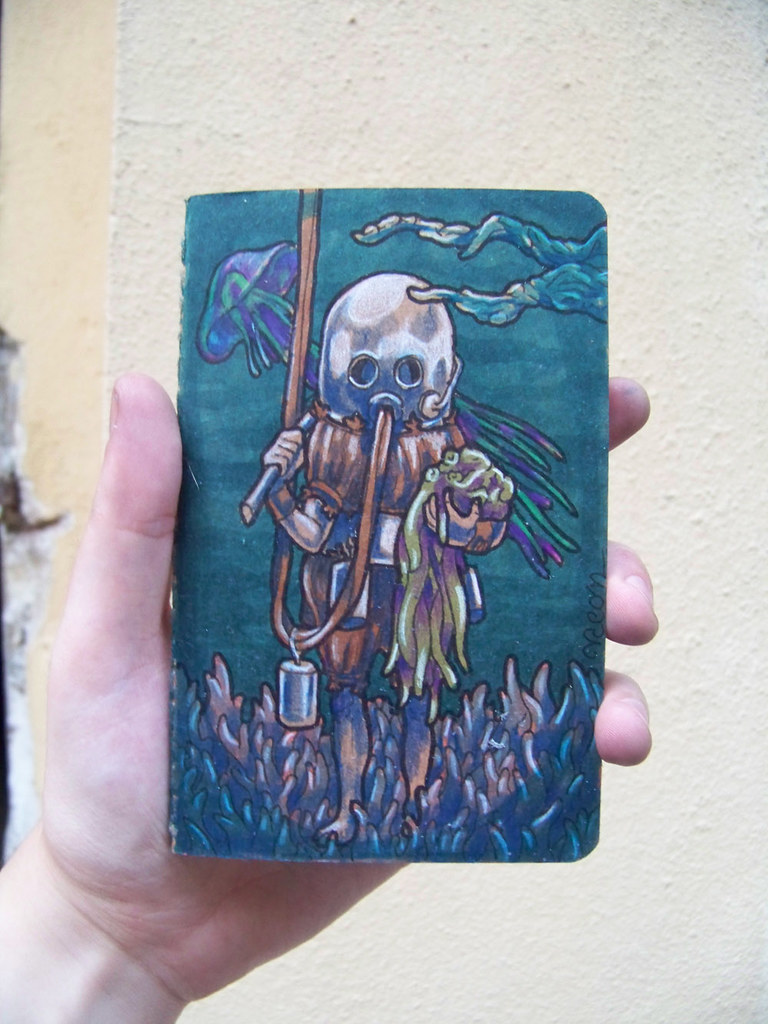 Unknown Diver Special Edition Moleskine Pocket Notebook