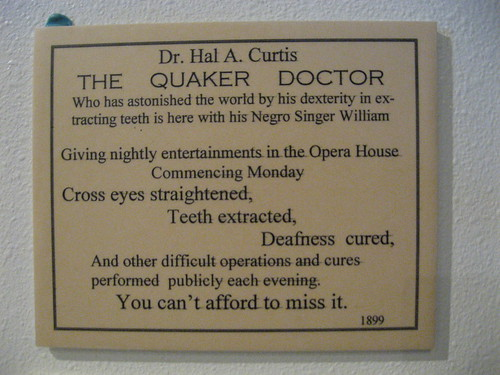 Hal, the Quaker Doctor