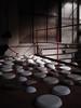 70 bowls upside down (kirstie van noort) Tags: colour colors ceramic design ceramics colours colorfull eindhoven clay plates van bowls klei 2009 porcelain kirstie wellbeing byhand oxide kleur keramiek kleuren oxides colourfull strijps ceramicbowls palet porselein schalen machinekamer noort designacademyeindhoven porcelainplates kleurenpalet colouredbowls vannoort kirstievannoort porcelainbowls manandwellbeing wellbeingdesignacademyeindhoven wellbeingdesignacademie designacademywellbeing