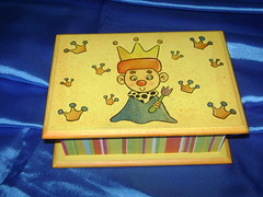caixa Infantil (ppsissa) Tags: e papeis guardanapos decopagem
