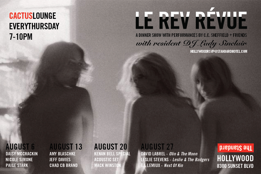 Le Rev revue thursdays- august