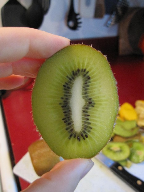 Hydrated Kiwi