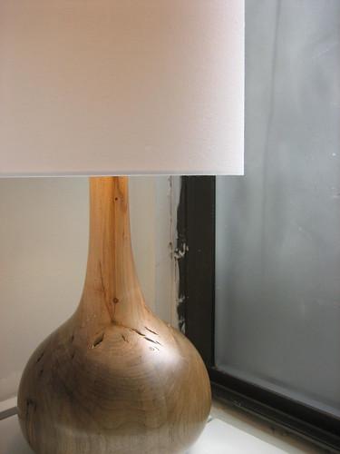 Lake Log Lamp