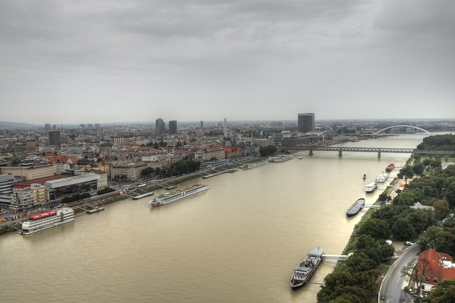 View of Danube...