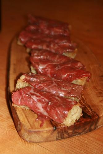 Bibendum Wine Tasting - Fab Wagyu Beef