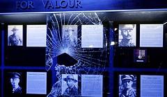Waiouru Museum Medals Broken Case