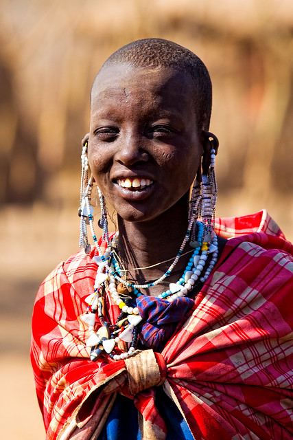 Rapaza Masai / Masai Chick