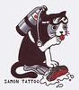 Cat Salmon samon tattoo www.myspace.com/samontattoo