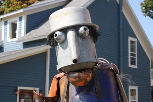 A friendly old Tin Man