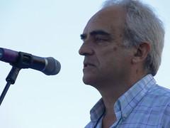 El pregoner i propietari de Mas Pólit Josep Lluís Iglesias