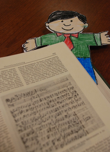 Flat Stanley reads German