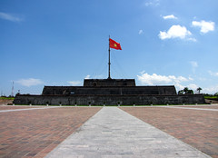 The tallest flagpole in Vietnam