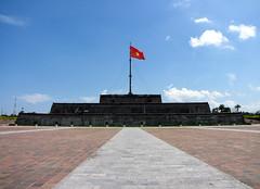 The tallest flagpole in Vietnam
