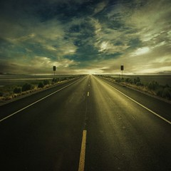 Find my way... (.Rianspeed) Tags: road sky texture dark way find oldschooldigital infinestyle