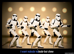 Nobody but chew~ (achew *Bokehmon*) Tags: light music cute zeiss starwars funny bokeh song sony nobody retro korean carl stormtrooper karaoke alpha musicvideo mv 2470 a850 wondergirls