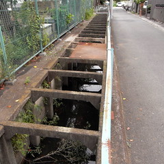 artificial ditch at Higashi Kanamachi 05