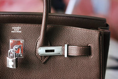 élégant (heartbreaker [London]) Tags: brown fashion bag french high designer chocolate feminine elegant hermes luxury amna