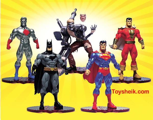 SUPERMAN BATMAN SER 1 PUBLIC ENEMIES MASTER ASST