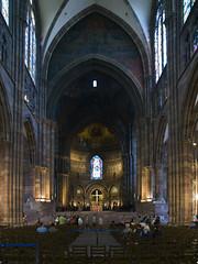 Notre-Dame de Strasbourg # 4 (schreibtnix on' n off) Tags: france travelling architecture reisen frankreich gothic churches cathedrals kirchen strasbourg architektur altstadt oldcity gotik kathedralen notredamedestrasbourg olympuse3