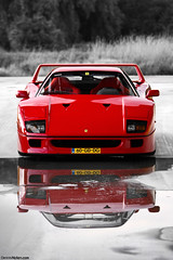 F40. (Denniske) Tags: canon photography eos is photoshoot august automotive ferrari 09 l shooting mm dennis 13 legend 13th 70200 2009 f28 supercar ef v8 08 f40 fotoshoot noten lseries llens hypercar 40d denniske dennisnotencom