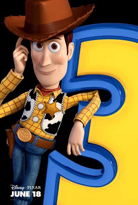 poster Toy Story 3 Woody