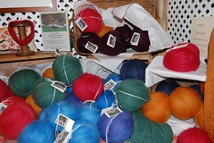 Fiber balls at Weston Hill Farm