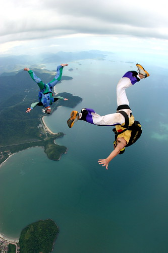 Kickass Skydiving Picture