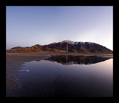 Lead Me to Your Reflection (Aaron Varga) Tags: mountain mountains reflection slr texture nature water digital landscape photography utah nikon aaron creative varga saltair d90