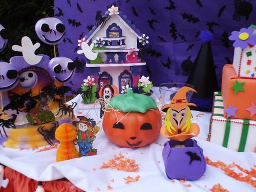 fotos de decoração para festa halloween