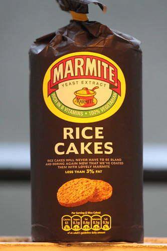 What To Eat Marmite Rice Cakes With